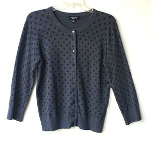 Spense Polka Dot Cardigan